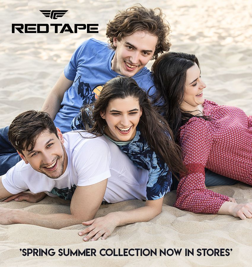 Powerup your Fashion style with Red Tape