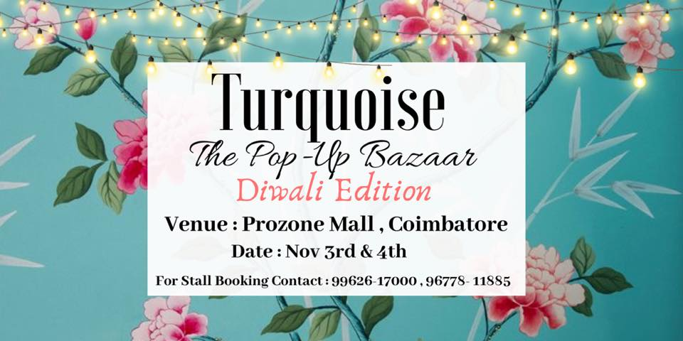 Turquoise - The Pop-Up Bazaar-Diwali Edition