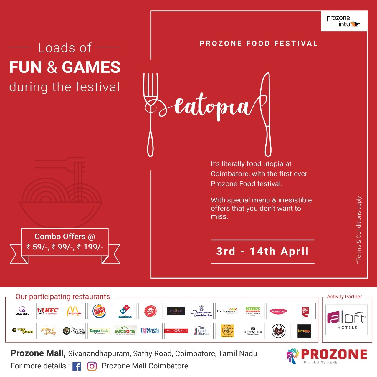 First Ever Prozone Food Festival - EATOPIA
