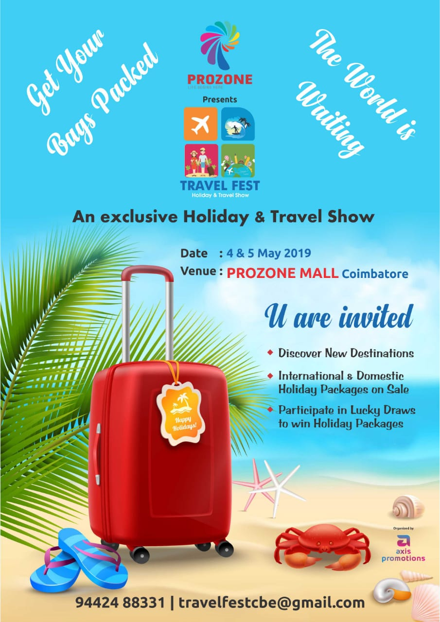 Travel Festival In Prozone Mall