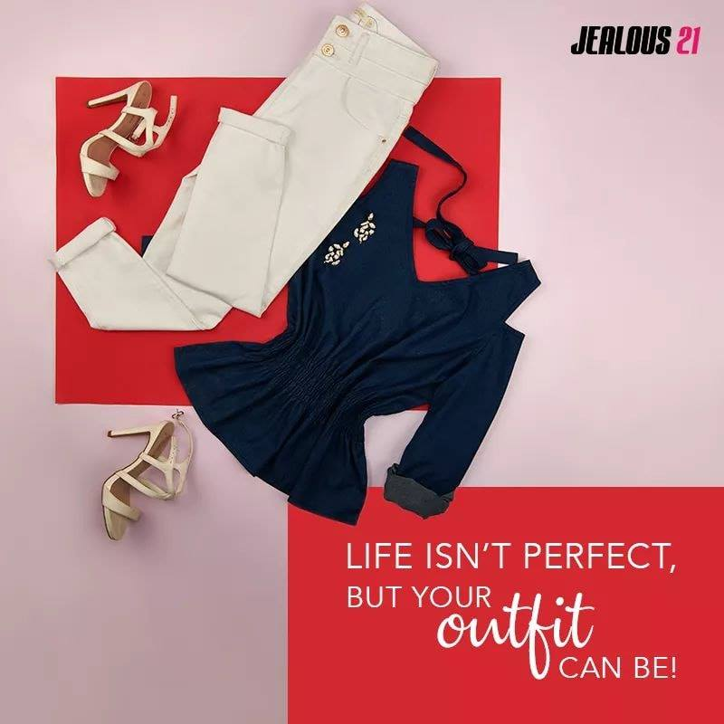 Parties, Dates, Casual Outings? think Jealous21 denims