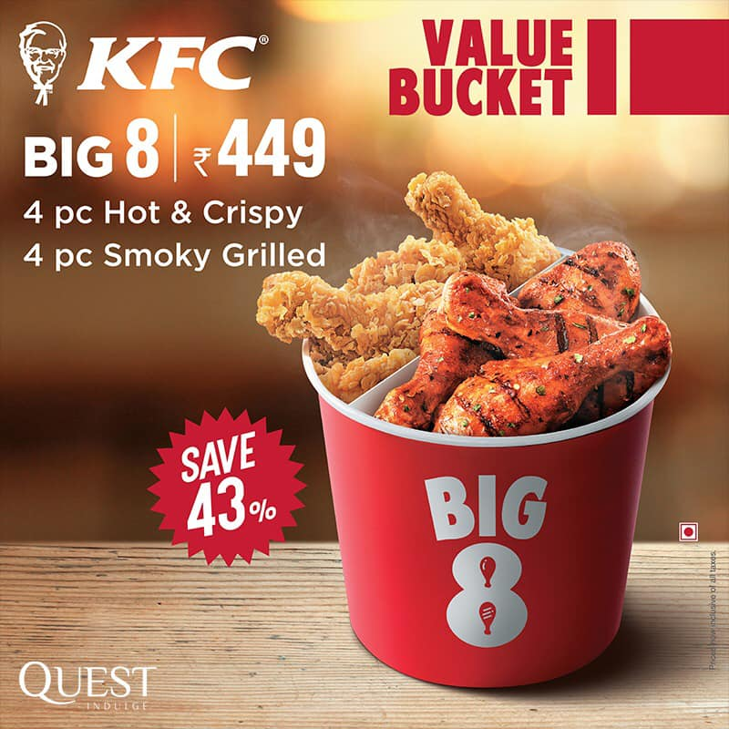 KFC Value Bucket