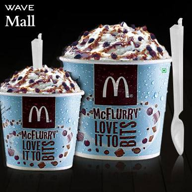 Mcflurry at McDonald