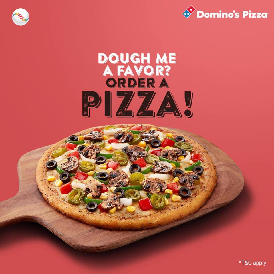 Get-Together to share Domino's Pizza