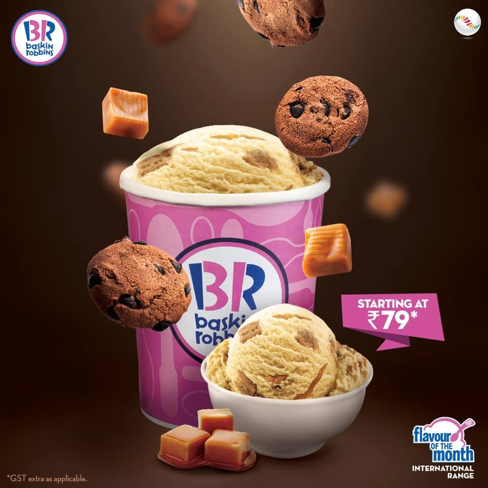 Baskin Robbins Cookie Toffee Ice Cream