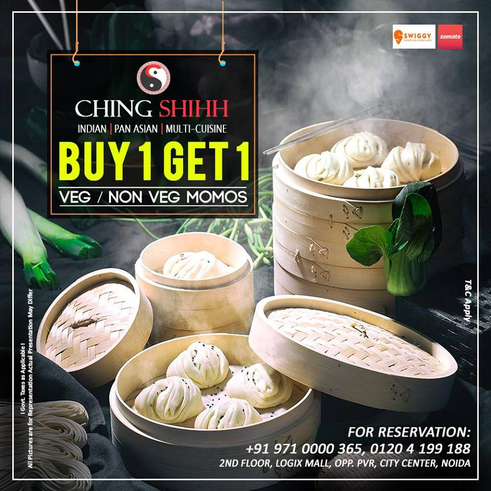 BOGO Offer on MOMOS