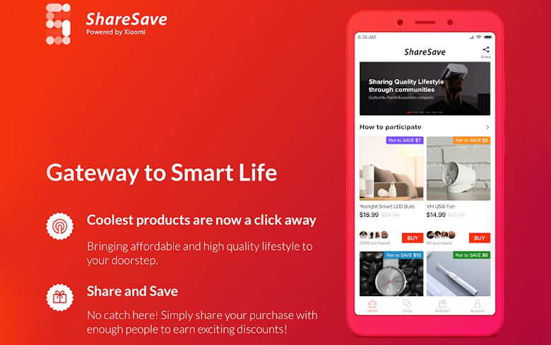 XIAOMI LAUNCHES NEW CROSS-BORDER E-COMMERCE PLATFORM SHARESAVE