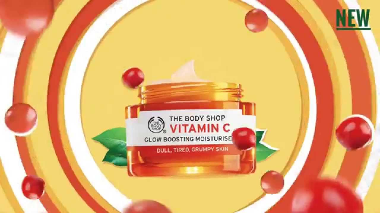 The Body Shop - Vitamin C Glow Boosting Moisturizer