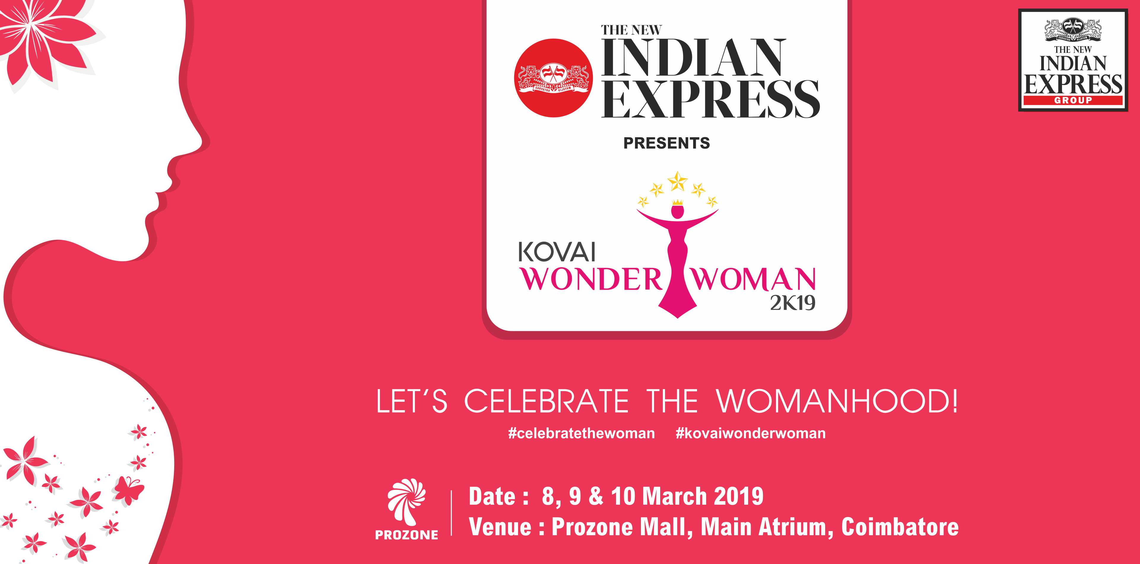 WONDER WOMEN'S EXPO 2K19 - PROZONE MALL COIMBATORE