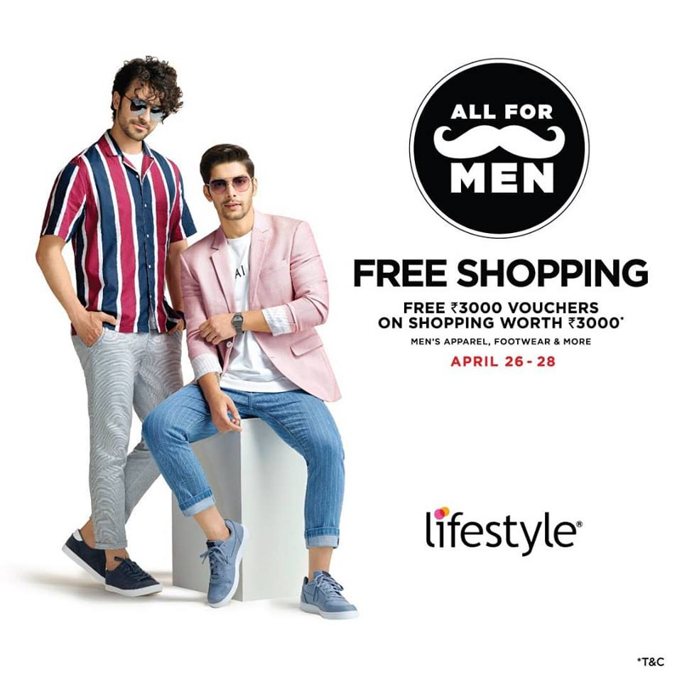 Get Rs 3000 vouchers FREE at Lifestyle