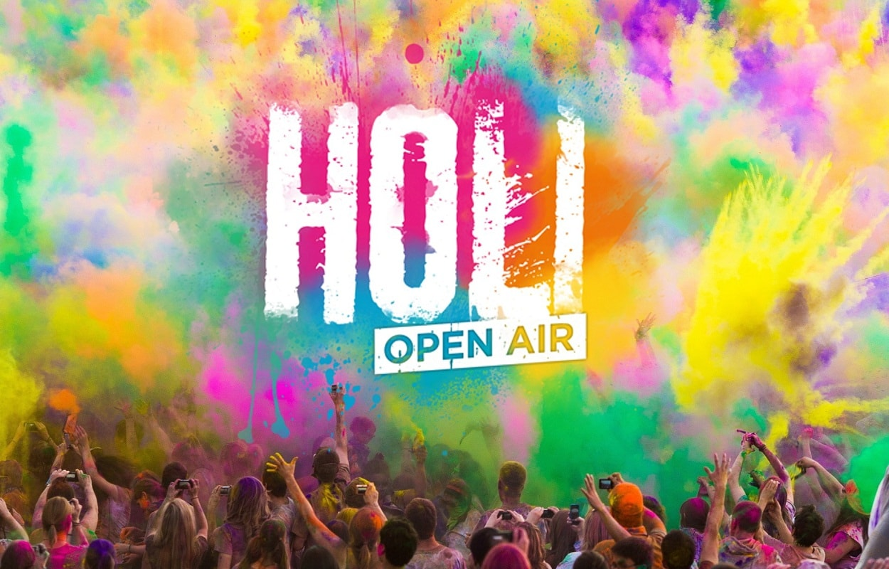 Holi Festival At Brookefields - The Mall Coimbatore Event
